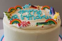 Picture of Rainbow Celebration Cake