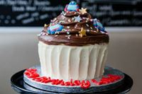 Picture of Chocolate Giant Cupcake