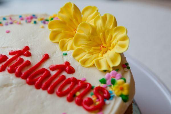 Picture of Gluten Free Vanilla Celebration Cake