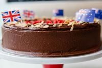 Picture of Gluten Free Chocolate & Almond Celebration Cake