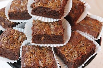Picture of Gluten Free Salted Caramel Brownie