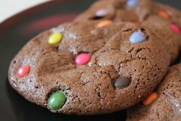 Picture of Chocolate M&M Cookies