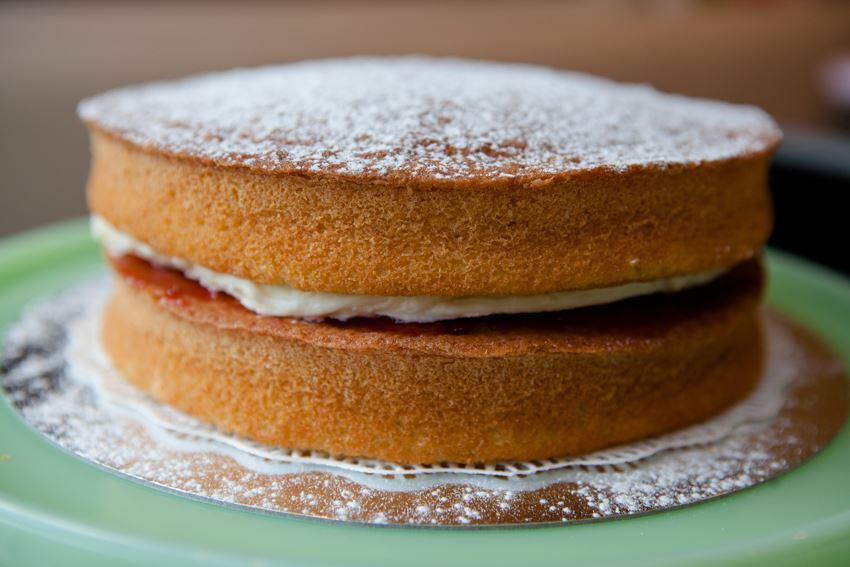 Victoria Sponge Cake Recipe Recipes Good Food Channel