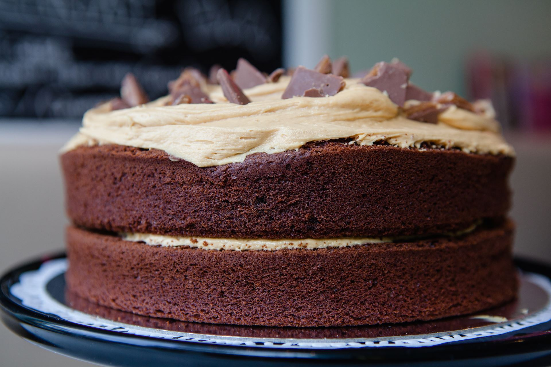 Show details for Chocolate Caramel Layer Cake