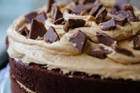 Picture of Chocolate Caramel Layer Cake