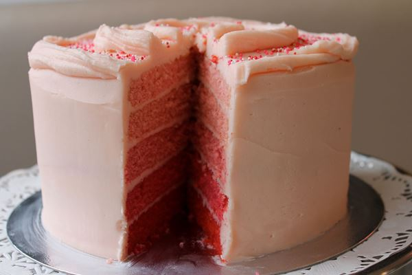 Picture of Ombre Layer Cake