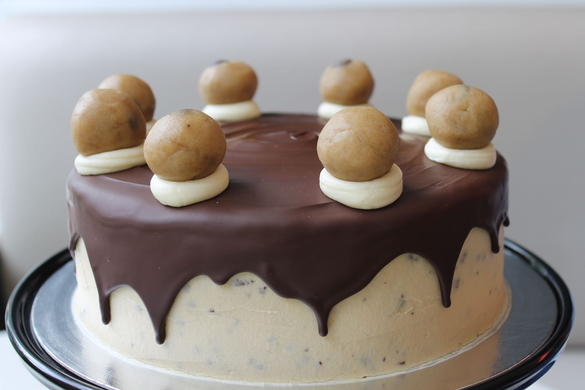 Layered Cookie Cake Recipes: Cookie Dough Layer Cake