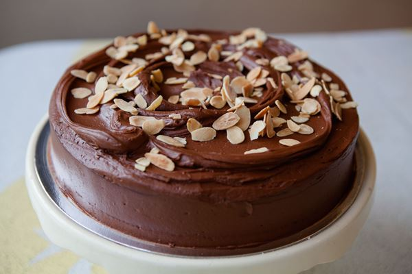 Picture of Gluten Free Chocolate & Almond Cake