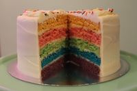 Picture of Rainbow Layer Cake