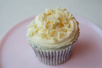 Picture of Chocolate with White Chocolate Cupcake