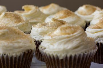Picture of Ginger Fudge Cupcake