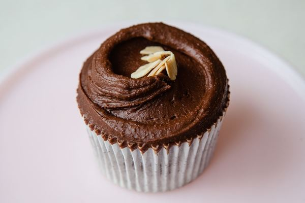 Picture of Gluten Free Chocolate & Almond Cupcake