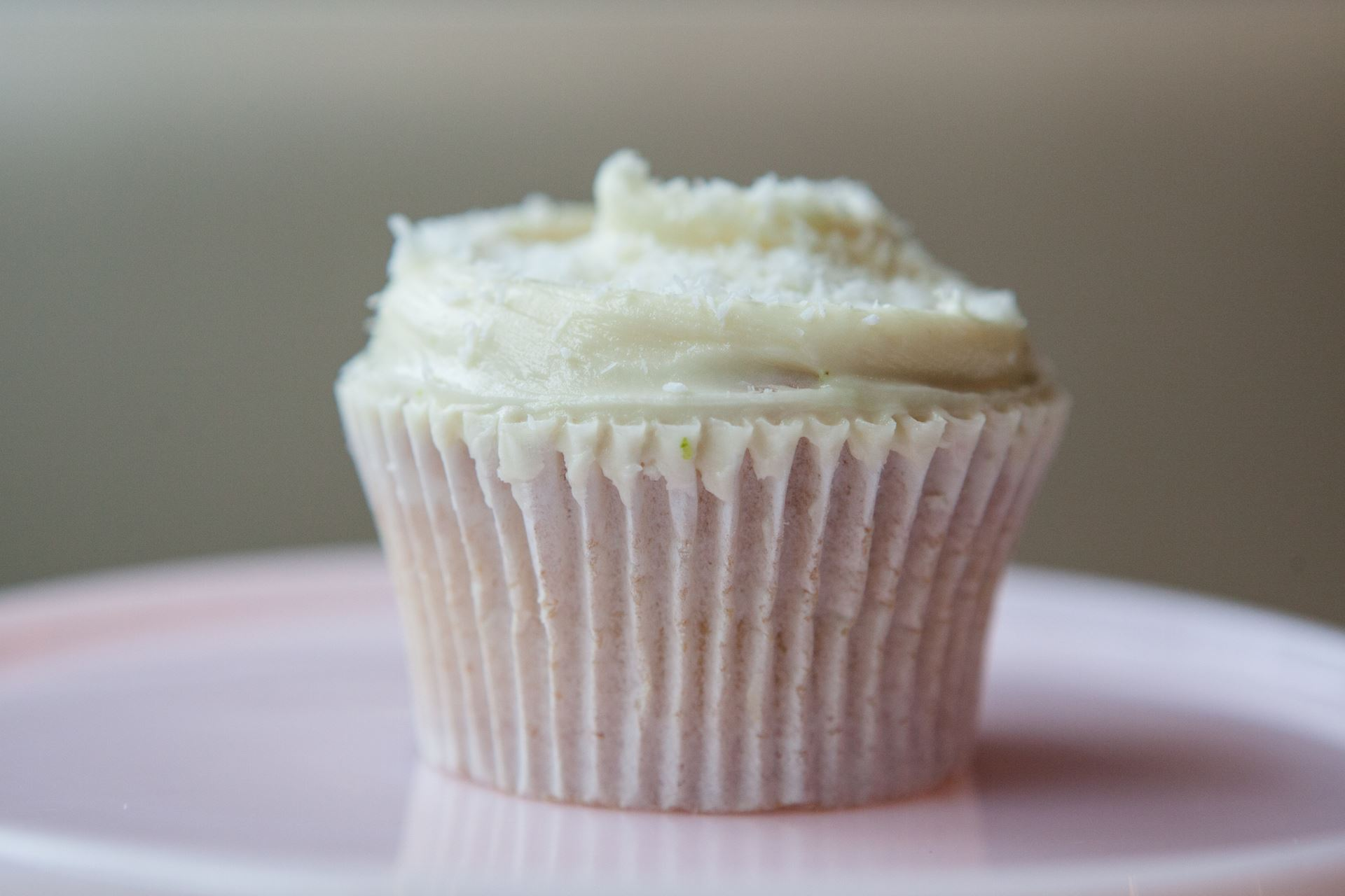 Lime & Coconut Cupcake