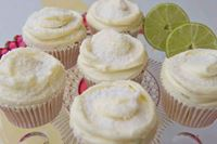 Picture of Lime & Coconut Cupcake