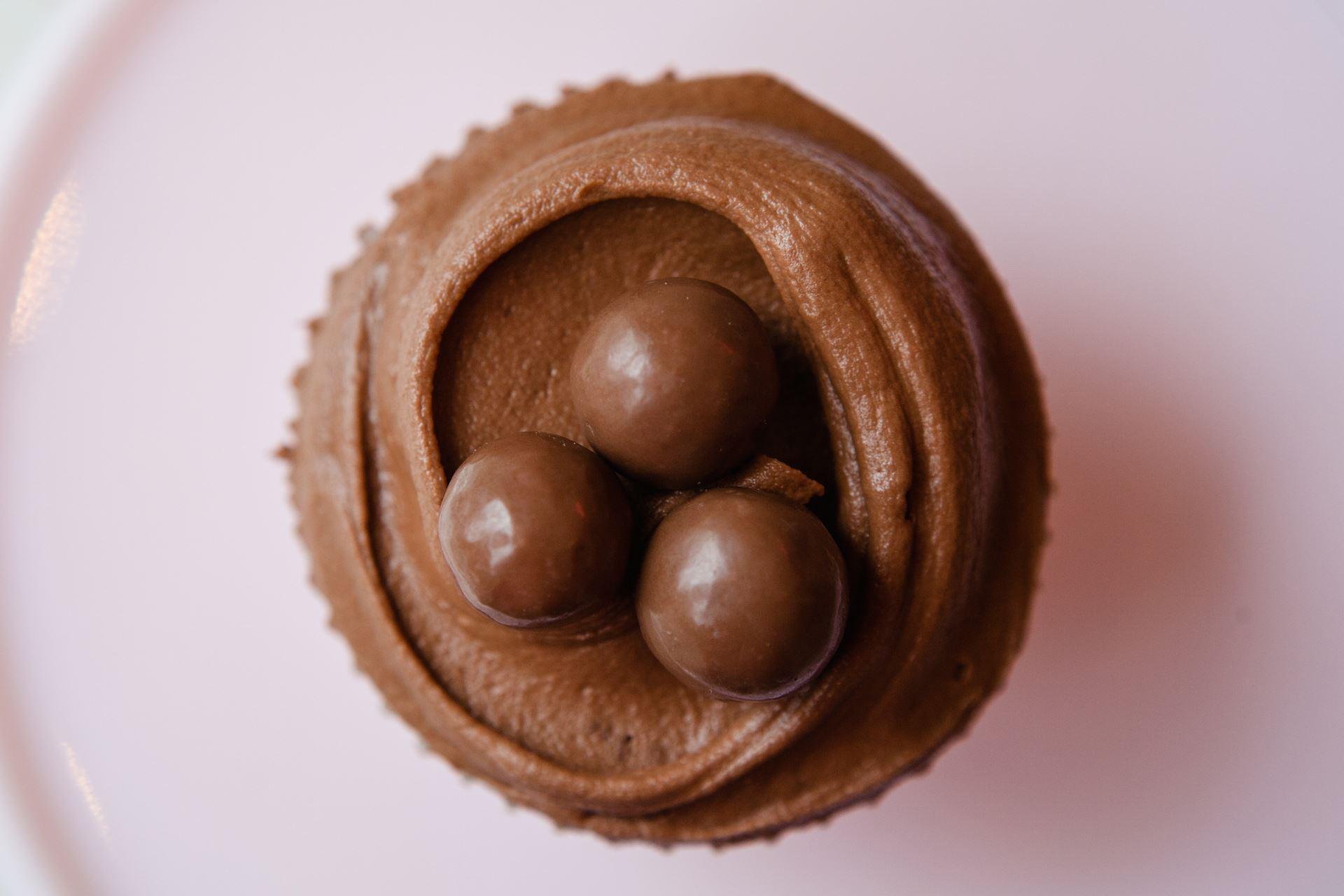 Malteser Cupcake