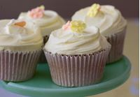 Picture of Orange Blossom Cupcake