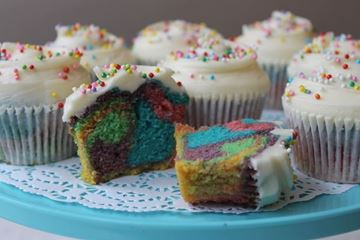 Picture of Rainbow Cupcake