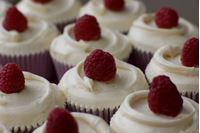 Picture of Raspberry & White Chocolate Cupcake