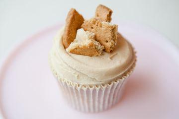 Picture of Tea & Digestive Cupcake