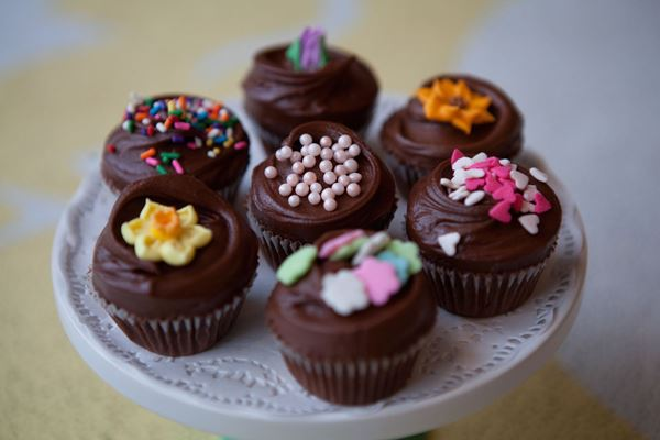 Picture of Mini Chocolate Cupcake