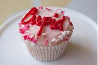 Picture of Valentine's Day Vanilla Cupcake