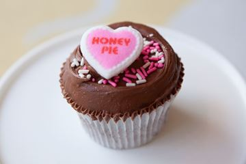 Picture of Valentine's Day Chocolate Cupcake