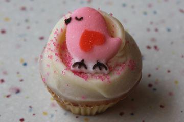 Picture of Valentine's Day Vanilla Mini Cupcake