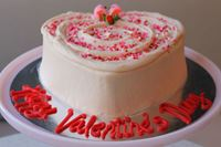 Picture of Valentine's Day Heart Shaped Cake