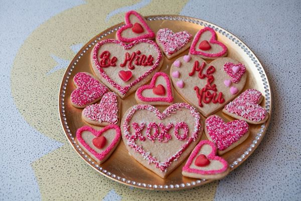 Picture of Valentine's Day Heart Shaped Biscuit
