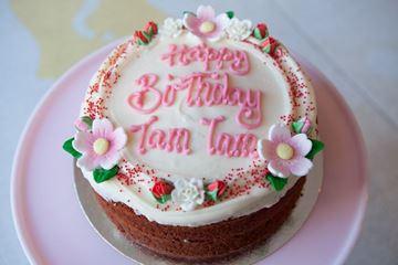 Picture of Natural Red Velvet Celebration Cake