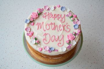 Picture of Mother's Day Theme Celebration Cake
