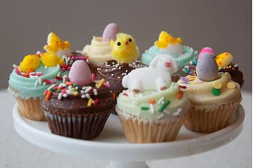 Picture of Easter Theme Chocolate Mini Cupcake