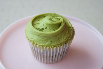 Picture of Matcha Green Tea Cupcake
