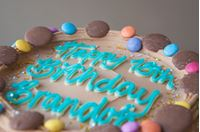 Picture of Milk Chocolate Celebration Cake
