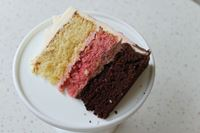 Picture of Neapolitan Celebration Cake