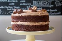 Picture of Snickers Layer Cake