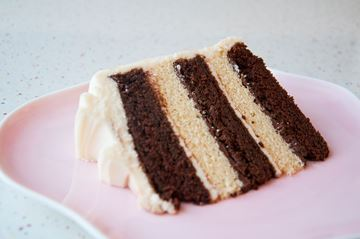 Picture of Stripey Cake