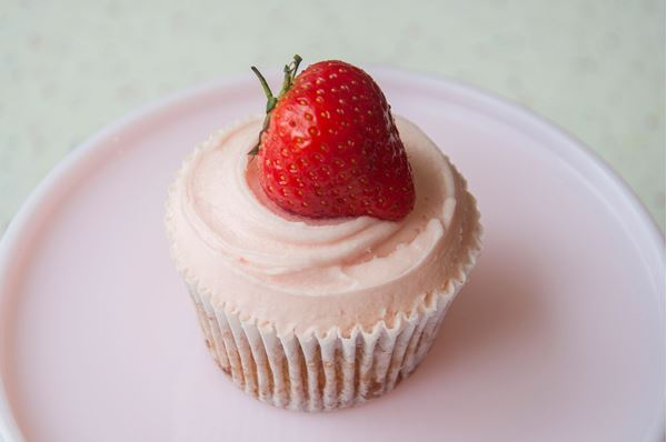 Picture of Strawberry Cupcake