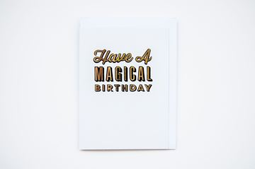 Picture of Have a Magical Birthday Greeting Card