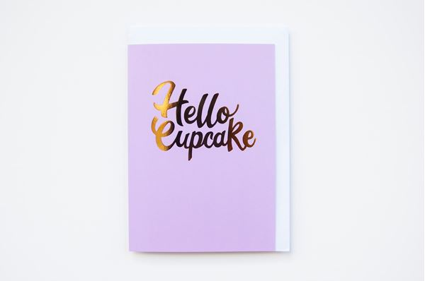 Picture of Hello Cupcake Greeting Card