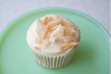 Picture of Pineapple & Coconut Cupcake