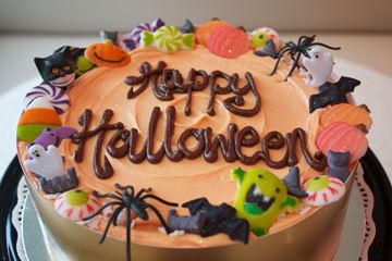 Picture of Halloween Theme Celebration Cake