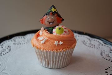 Picture of Halloween Vanilla Cupcake
