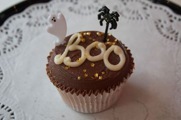 Picture of Halloween Chocolate Cupcake