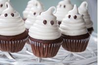 Picture of Chocolate Marshmallow Mini Ghost Cupcake