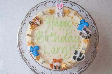 Picture of Stripey Celebration Cake