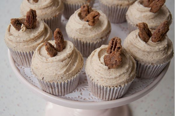 Picture of Brown Sugar & Pecan Cupcake