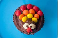 Picture of Thanksgiving Turkey Cupcake