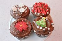 Picture of Christmas Chocolate Cupcake