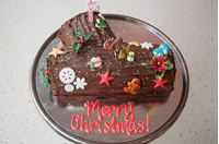 Picture of Chocolate Yule Log